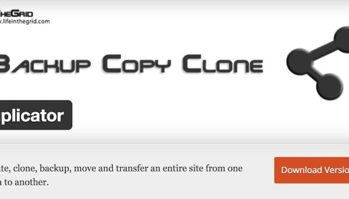 duplicator wordpress le remede