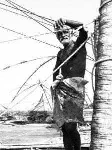 pêcheur de Kochi