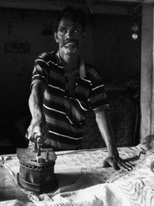 ouvrier au travail - inde