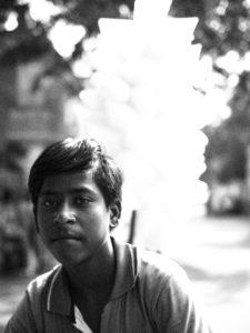 Marchand de barba-papa Pondichéry