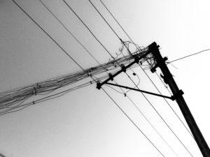 Inde - Paysage electrique
