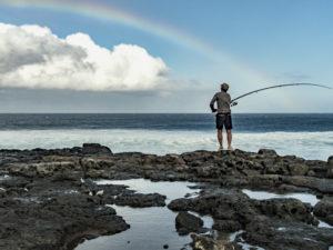 Run - pêche a l'arc en ciel